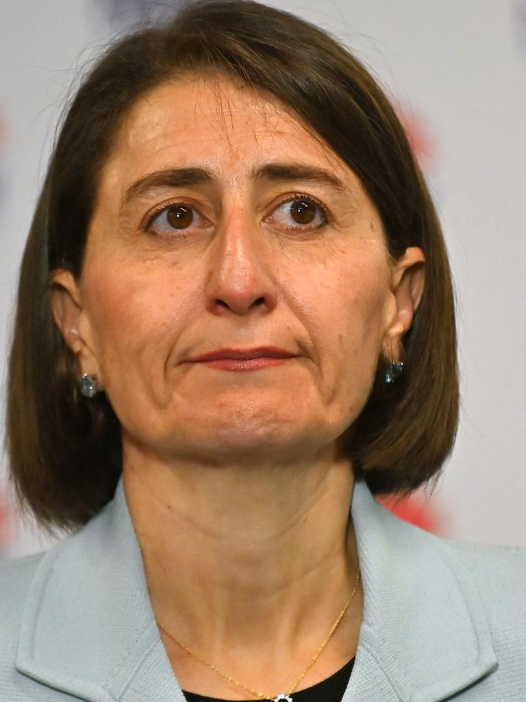 NSW Premier Gladys Berejiklian is reluctant to reopen the border with Victoria just yet. Picture: Steven Saphore/NCA NewsWire