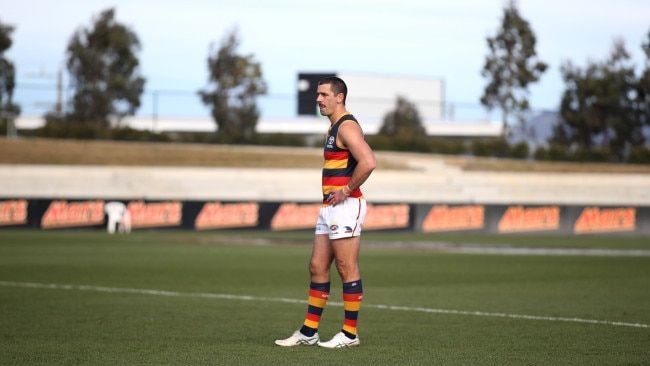 The Adelaide Crows has condemned the actions of Crows player Taylor Walker and confirmed, stating his comments do not reflect the views and values of the club. Picture: Getty Images