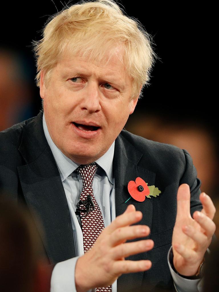 Britain's Prime Minister Boris Johnson. Picture: AFP