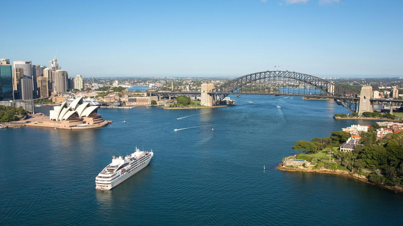Oceania Cruises' best-selling Australian cruise was the 'Aussie Adventure' 35-day circumnavigation of the country. Picture: Supplied