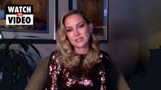 Kate Hudson responds to Music film backlash (Jimmy Kimmel)