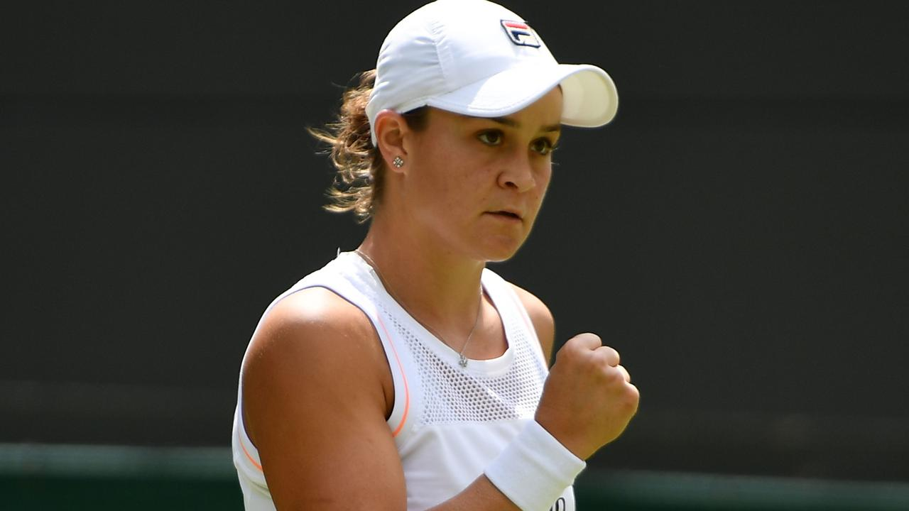 Wimbledon 2019: Ashleigh Barty cruises into second round with dominant straight sets victory