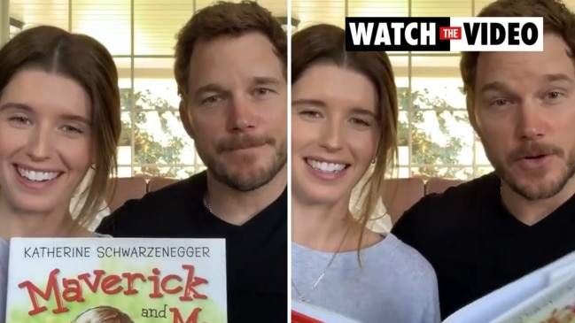 "Chris Pratt and Katherine Schwarzenegger read ""Maverick and Me"""