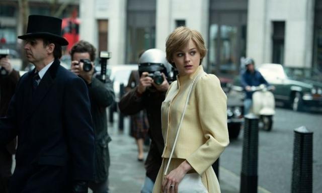 the Crown season four sneak peek new photos of princess Diana