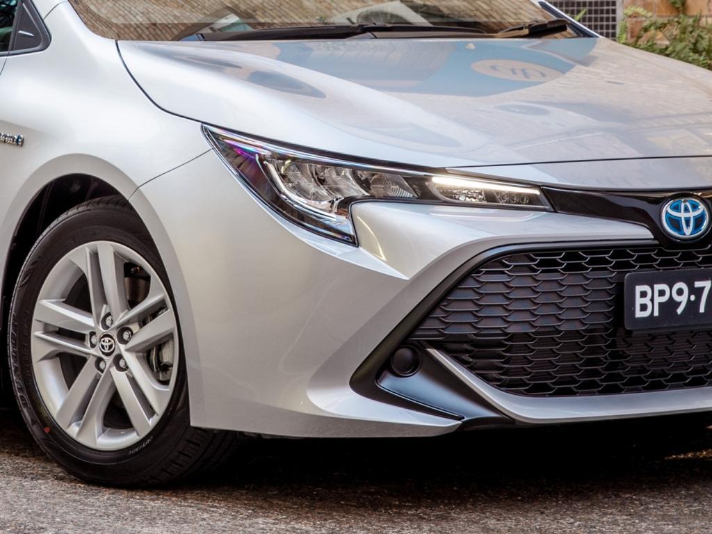 2021 Toyota Corolla Ascent Sport Hybrid.