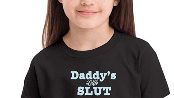 Retailer slammed for selling kids' clothing with offensive slogan