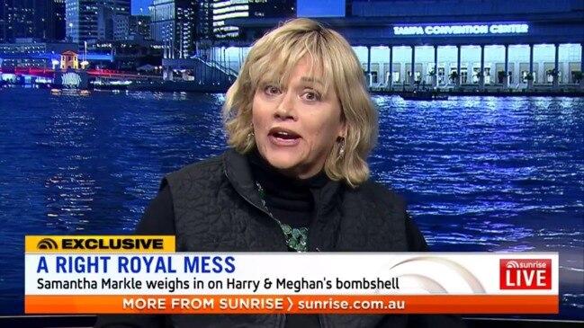 Meghan Markle's half-sister divulges on the latest royal scandal (Sunrise)