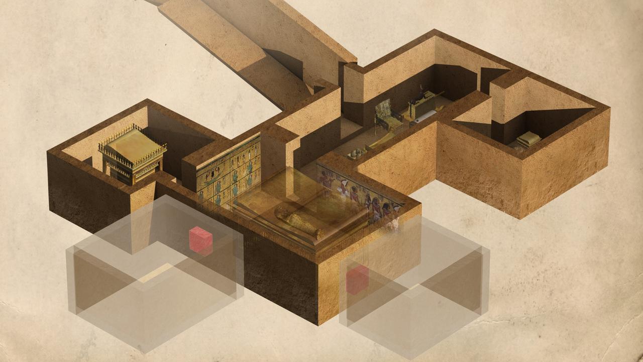 Tutankhamuns tomb, illustration
