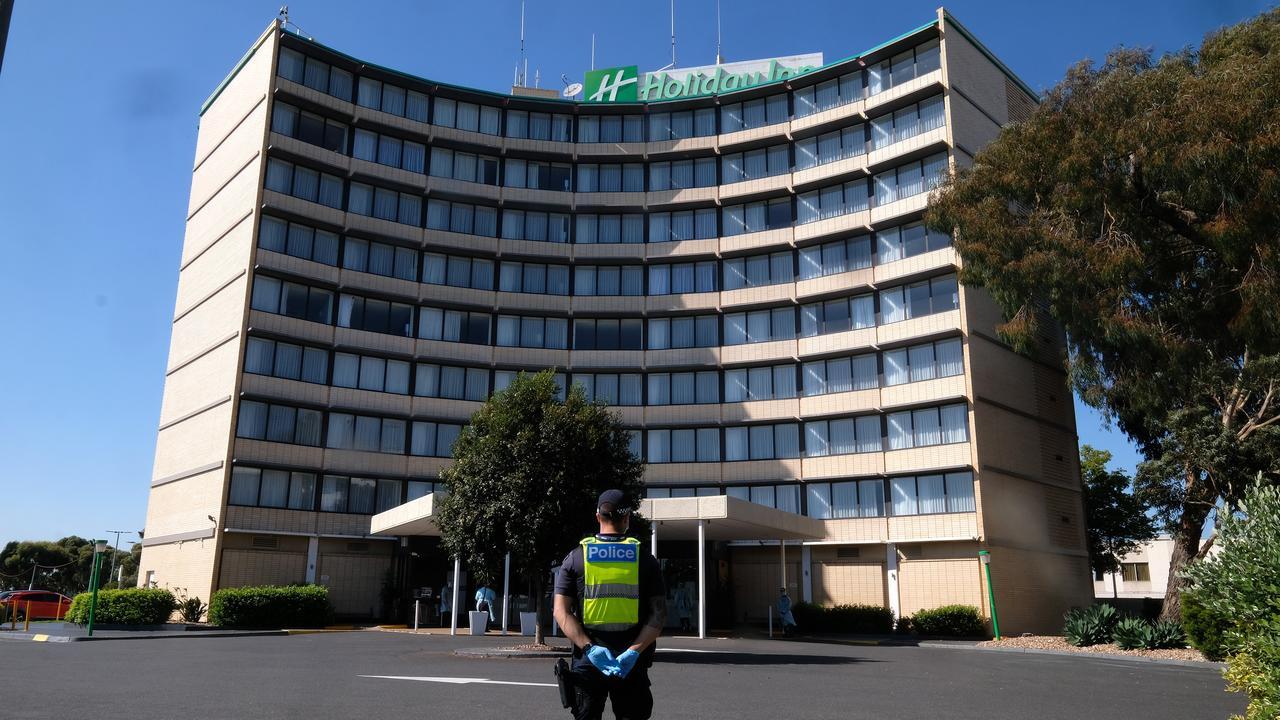 Major Brisbane hospital forced into lockdown – Herald Sun