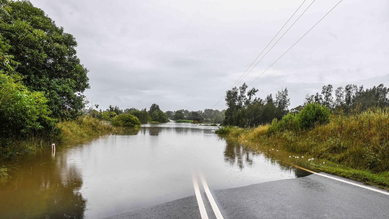 The flooding was the worst in decades. Picture: NCA NewsWire/Flavio Brancaleone