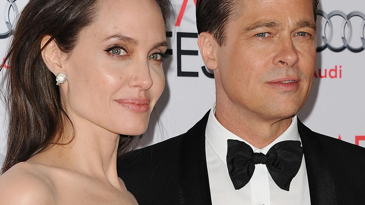 Pitt and Jolie were Hollywood's glamour couple, but private struggles took their toll. Picture: Jason LaVeris/FilmMagic