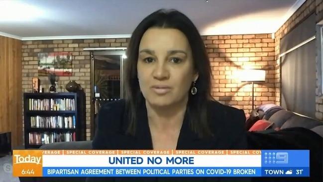 Senator begs for lockdown of Australia (The Today Show)