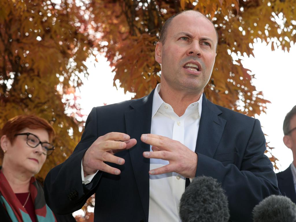 There were lots of winners and not so many losers in Josh Frydenberg's budget. Picture: NCA NewsWire/Gary Ramage