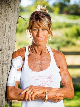 Templestowe personal trainer and fitness enthusiast Debbie Urquhart has since undergone surgery at the Austin Hospital. Picture: Mark Stewart