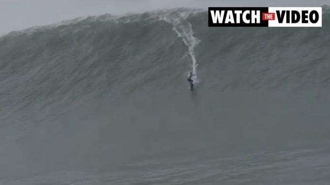 Maya Gabeira sets new record for largest wave surfed