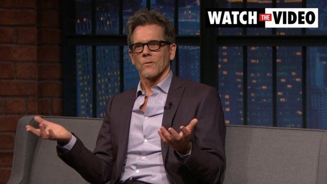 Kevin Bacon spills on being high shooting a movie (Late Night with Seth Myers)