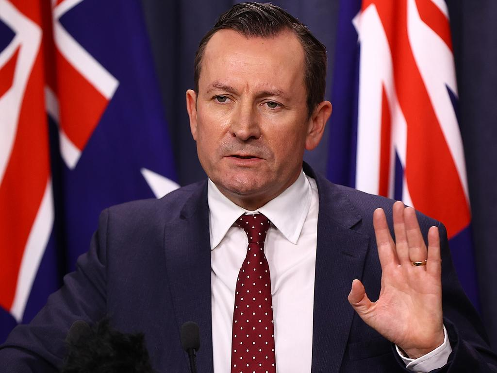 WA Premier Mark McGowan said the Prime Minister's comments were odd. Picture: Paul Kane/Getty Images