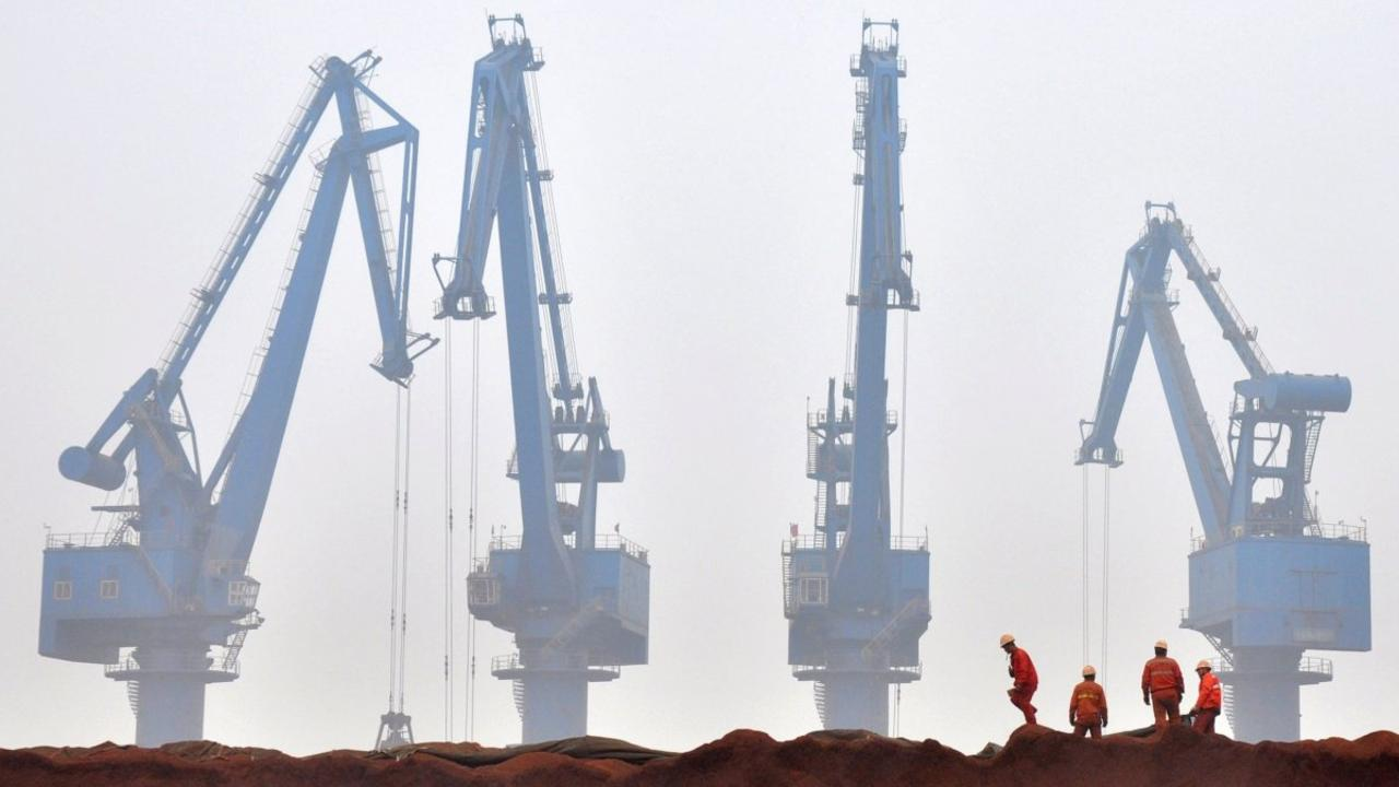 China's steel sector remains reliant on Australian iron ore. Picture: Vincent Du/Reuters