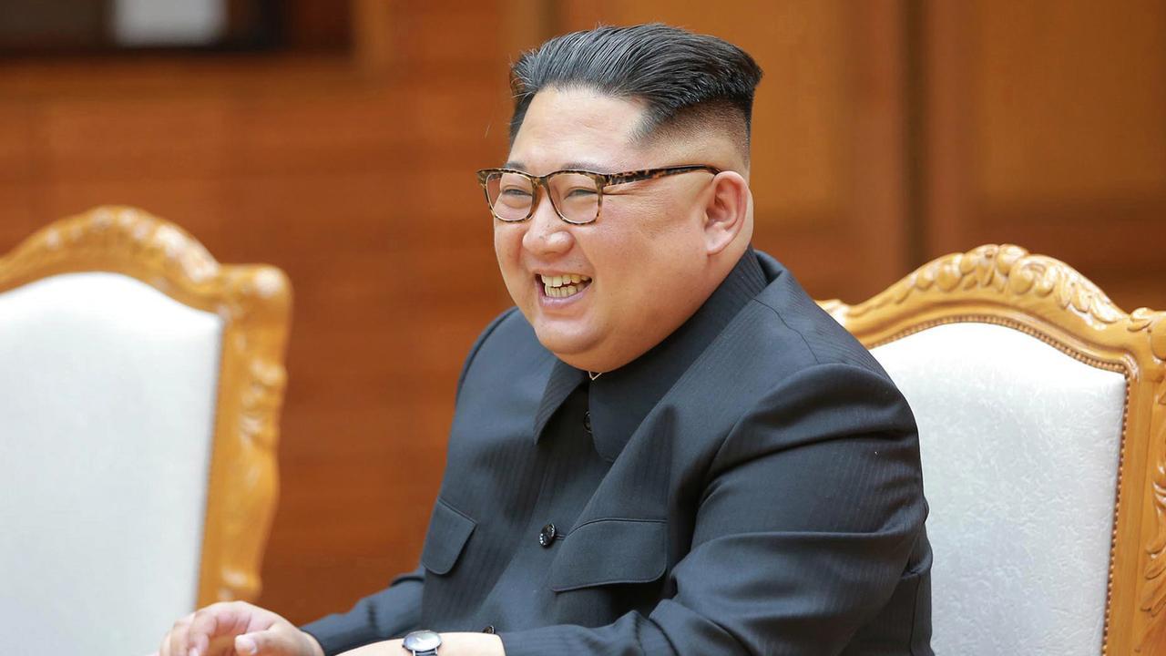 Kim Jong-un and Donald Trump could talk turkey over burgers. Picture: KCNA/AP