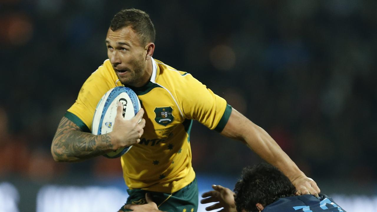 Quade Cooper's hopes of pulling on the Wallabies jersey for the first time since 2017 appear over. Photo: Getty Images