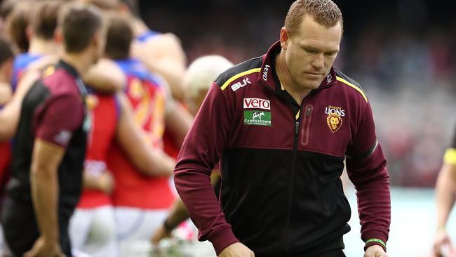 Justin Leppitsch was sacked by Brisbane on Monday.