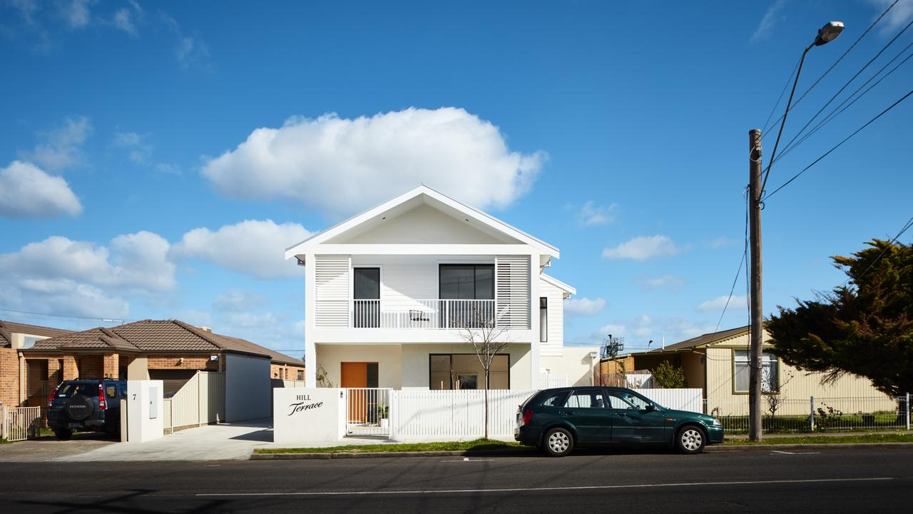 The Sunshine townhouse project designed by Steffen Welsch. Pictures: Rhiannon Slatter