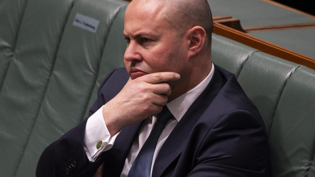 Treasurer Josh Frydenberg said ongoing risk assessment was needed in the hot market. Picture: NCA NewsWire / Martin Ollman