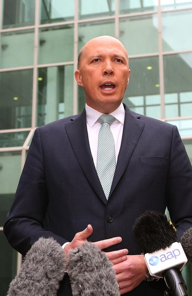 Chinese media compared Peter Dutton to Donald Trump in an unfavourable editorial.