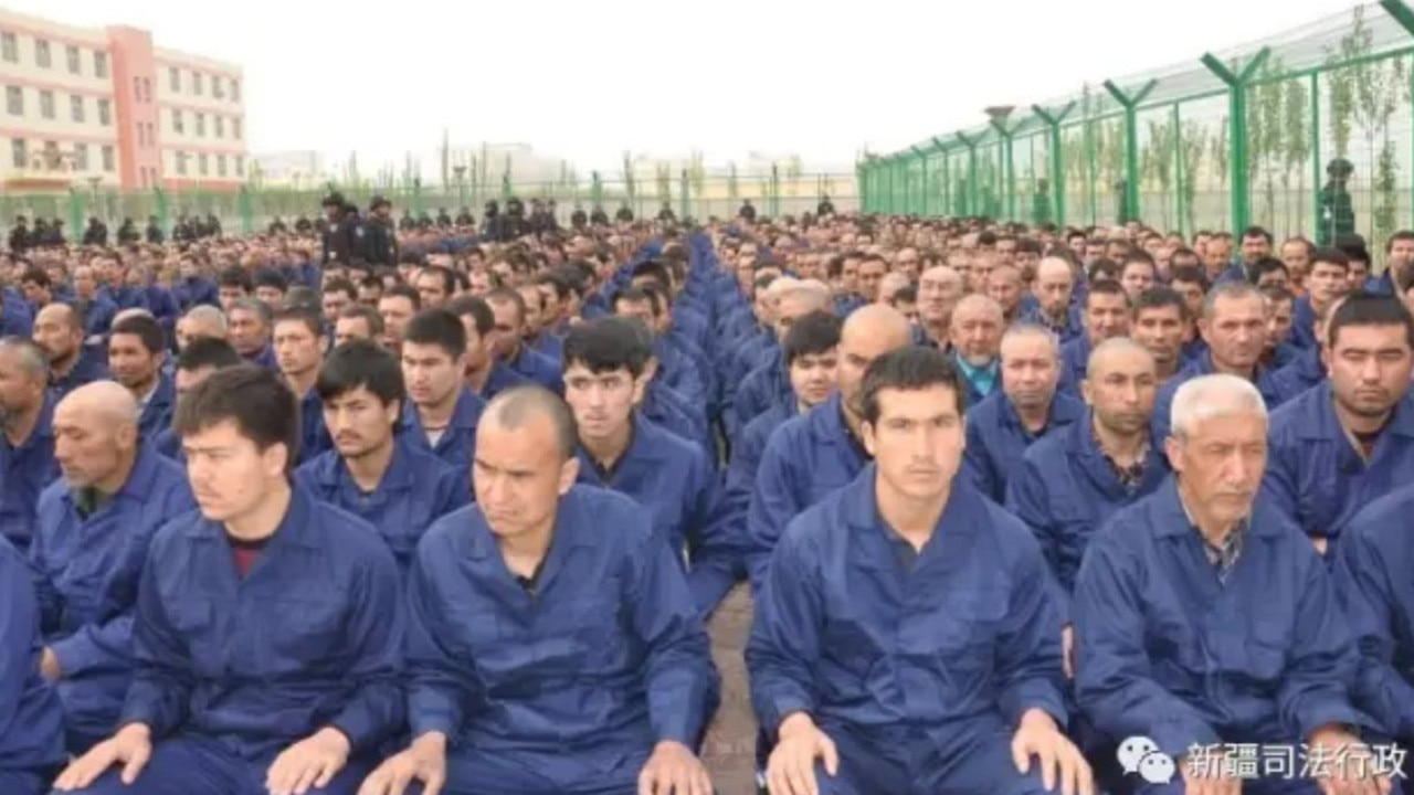 China has detained up to one million Uighurs and other minorities. Picture: ABC