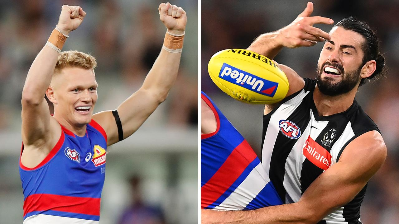 Adam Treloar's Bulldogs debut was a success, but Brodie Grundy was totally neutralised in a worrying sign for Collingwood.