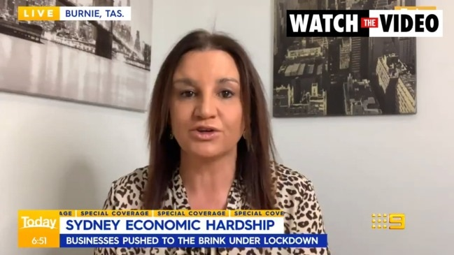 Senator Jacqui Lambie warns NSW could be 'locked out' of the country (The Today Show)