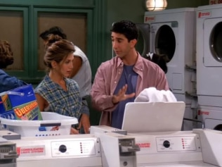 Household chores keep your brain healthy so do your damn laundry. Image: Friends