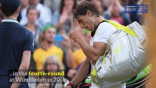 Kyrgios, Nadal set for Wimbledon blockbuster