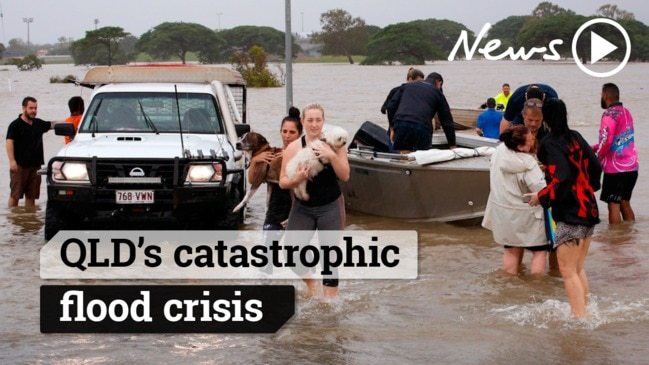 Queensland's catastrophic flood crisis
