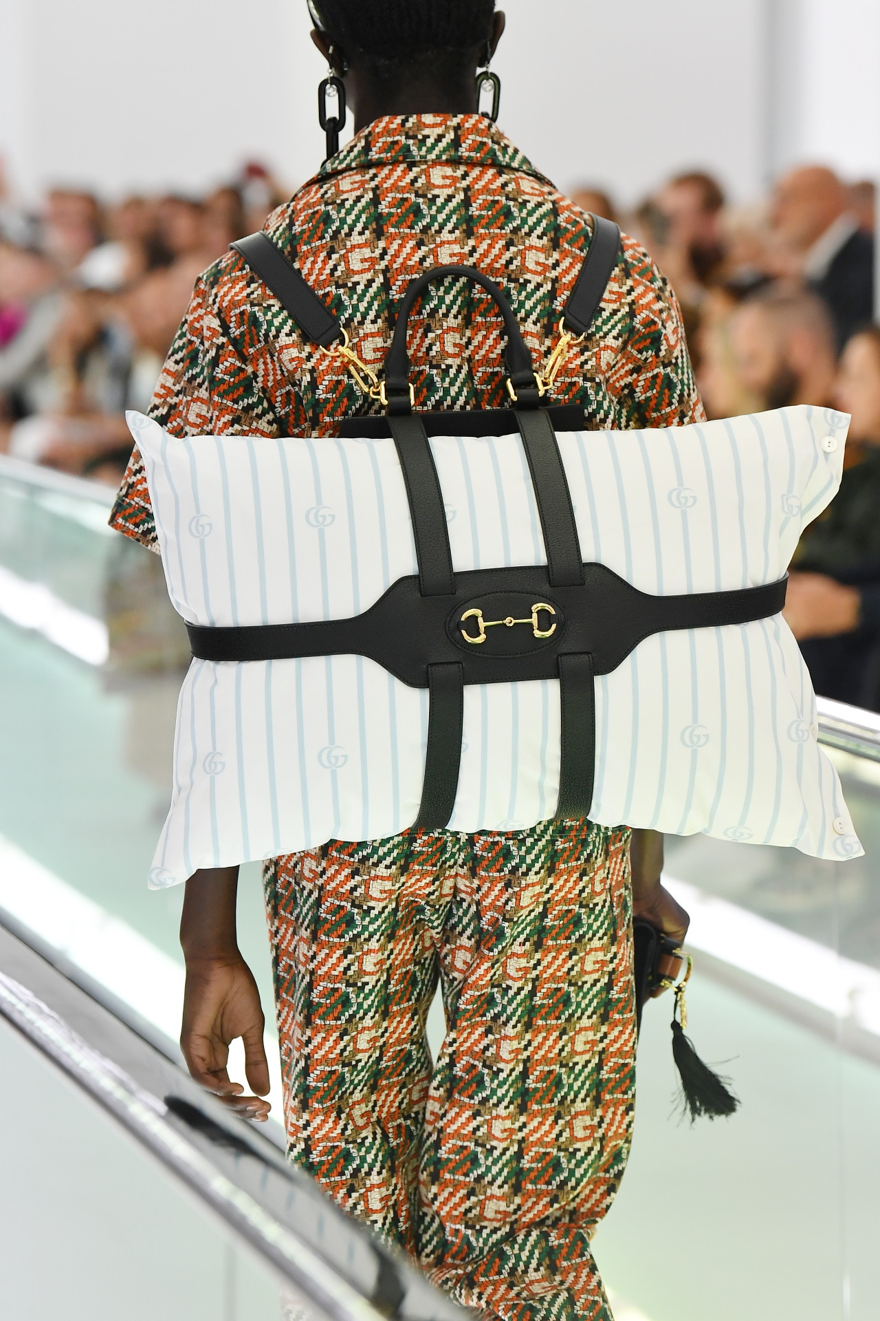 Gucci's new pillow backpacks are here to help you travel in comfort and style
