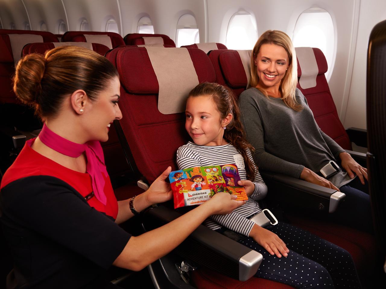 Qantas economy seats on A380 aircraft