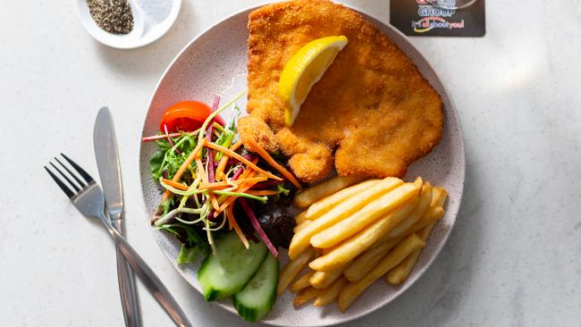 The best schnitty in the ACT went to the Canberra Labor Club.