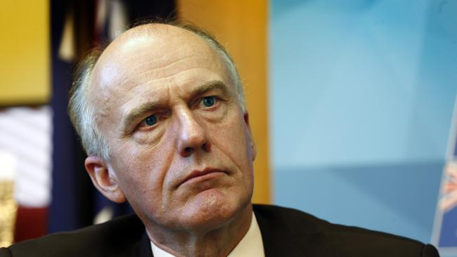 """Tasmanian Senator Eric Abetz has come under fire after demanding more recognition for homosexuals who """"come out"""" as heterosexual."""