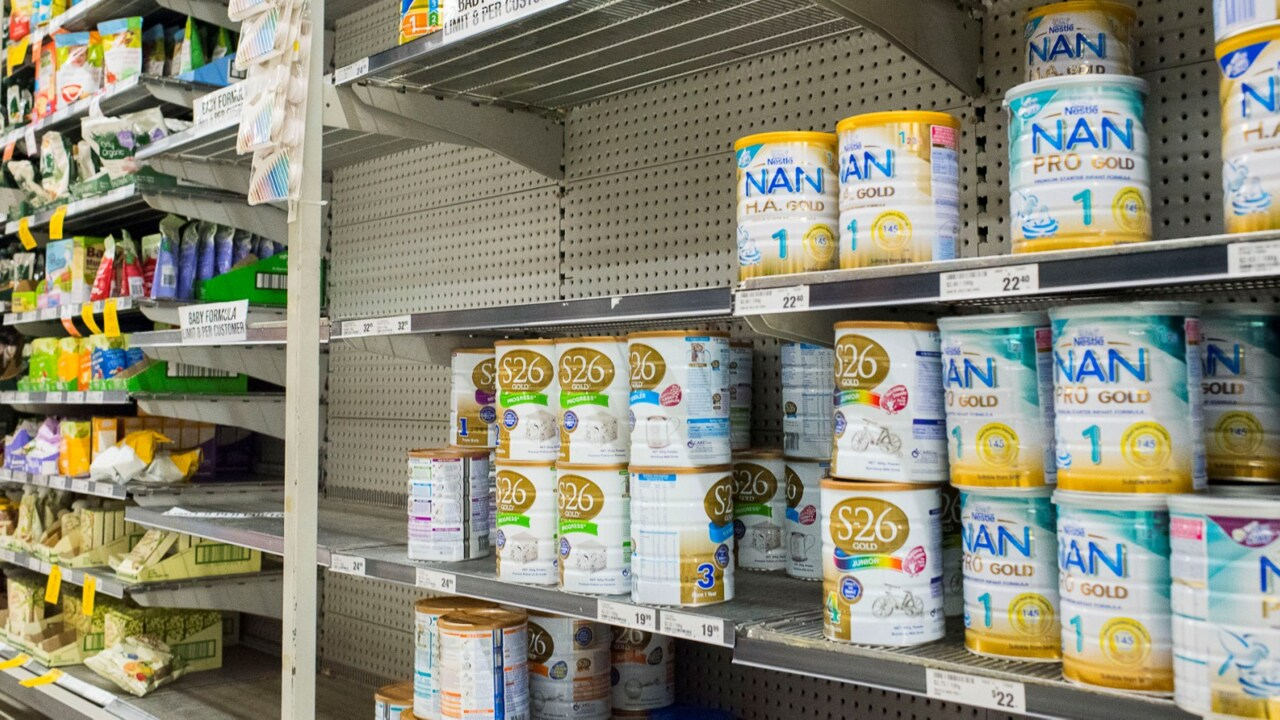 Hanson calls for tougher limits on sale of baby formula