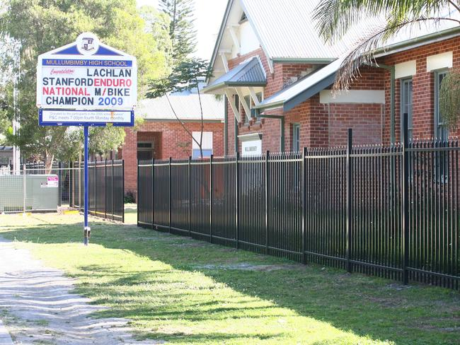 Mullumbimby High School students were allegedly victims of the site.