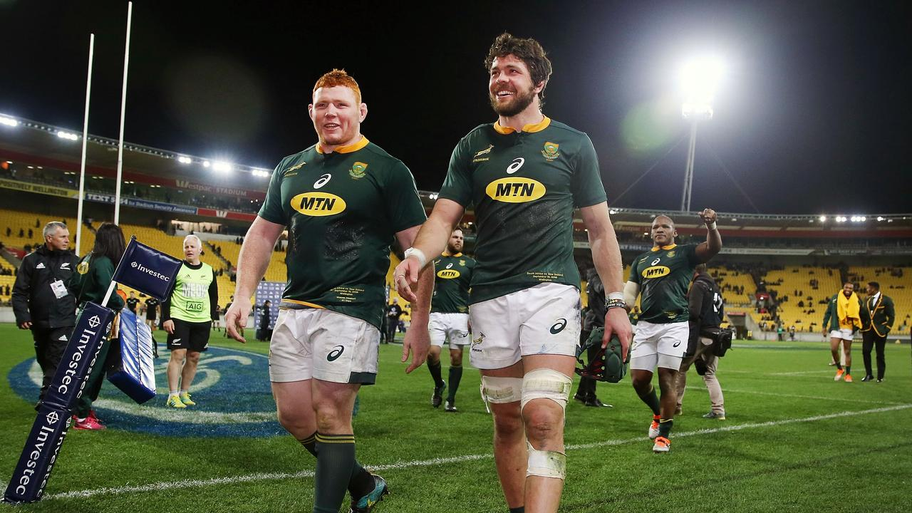 The Springboks' hopes of beating the Wallabies have suffered a blow after losing Warren Whiteley to injury.