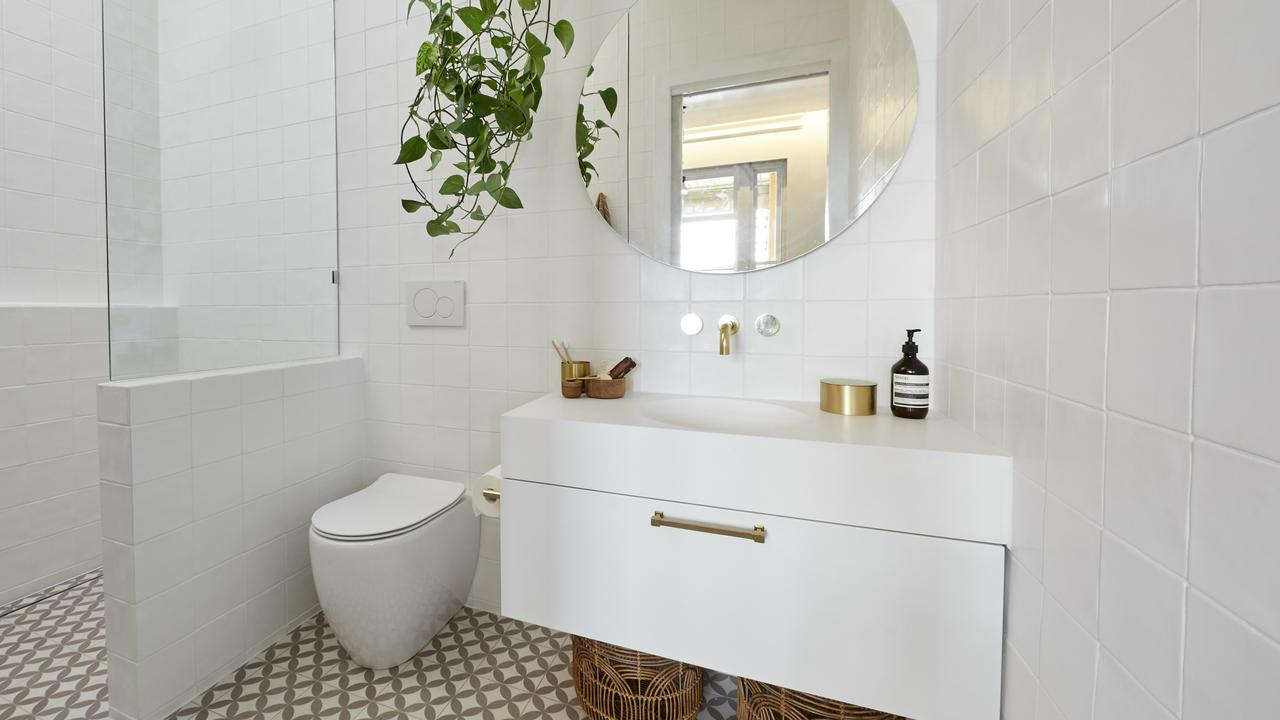 This is what a winning ensuite looks like. Picture: The Block/ Channel 9