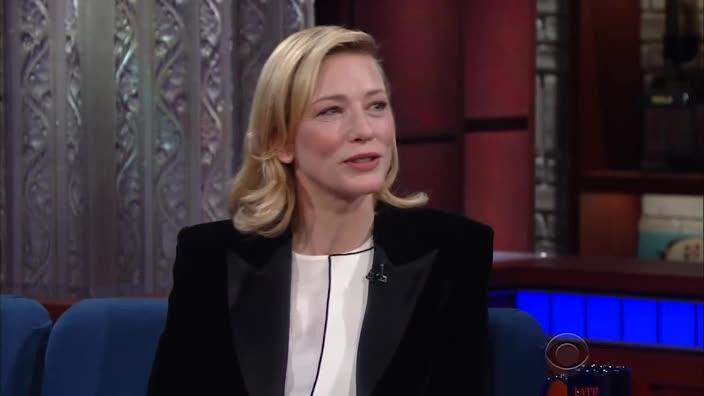 Cate Blanchett's moral compass is where!?