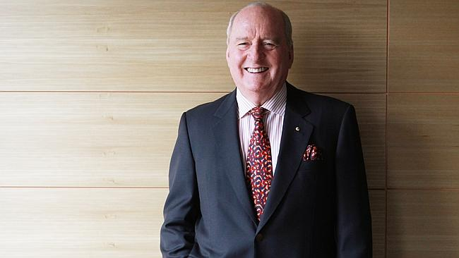 Radio personality ... Alan Jones says men can be their worst enemies at times.