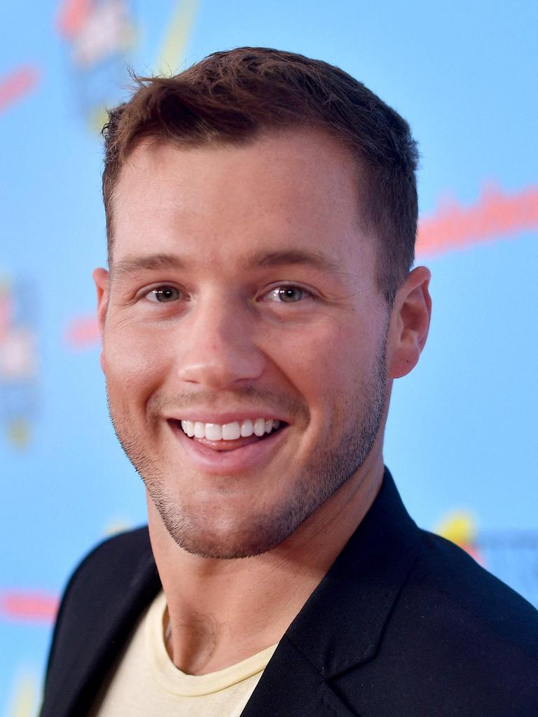 Colton Underwood. Picture: AFP