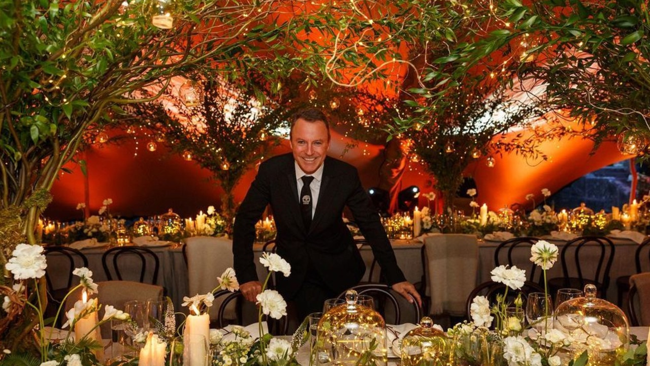 Colin Cowie (pictured) is famous for throwing lavish celebrity events and weddings.