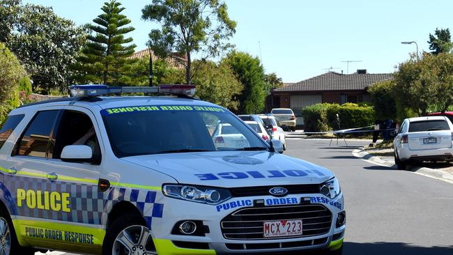 Police remain on high alert in Victoria, with a beefed up presence at possible targets. Picture: Nicole Garmston
