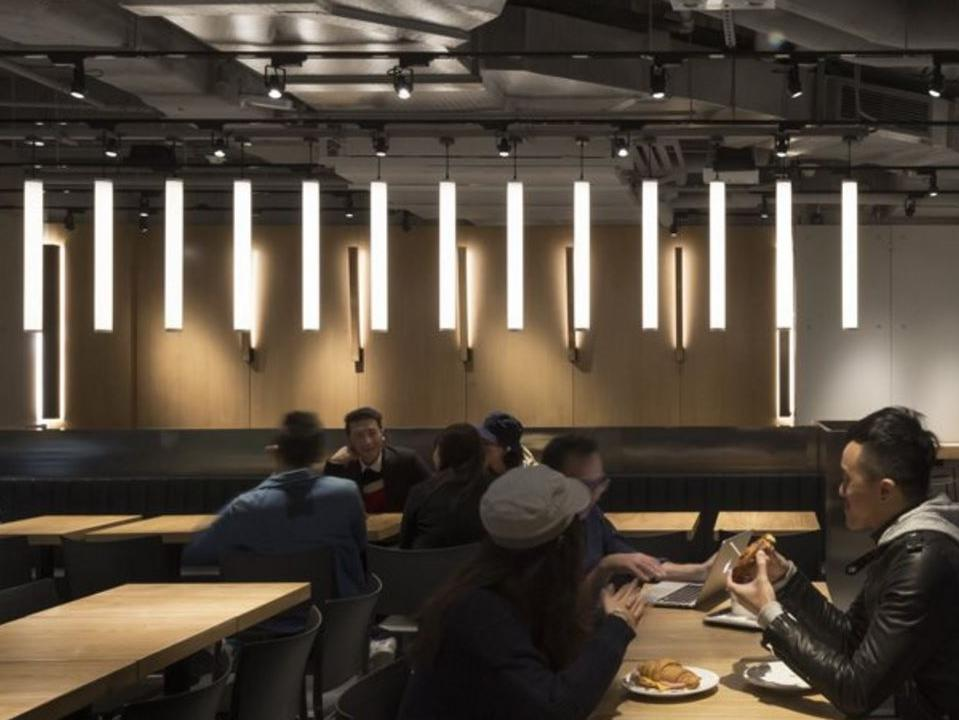 New way to dine ... what the new McDonald's store looks like. Picture: Landini Associates website
