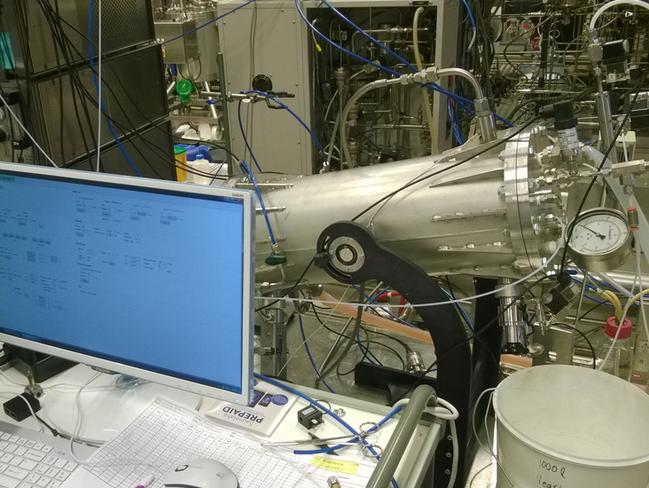 A 'protein reactor' developed by Finnish scientists. It zaps into existence a powder which is 50 per cent protein, 25 per cent carbohydrate - with the rest made up of fats and nucleic acids.