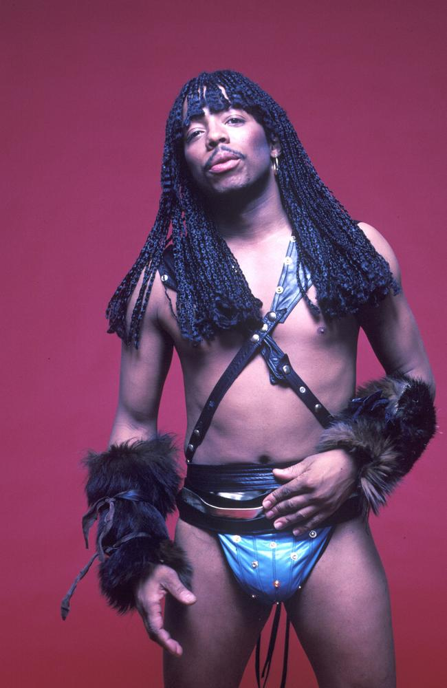 Rick James infamously funked up the legendary label Motown Records. Picture: Getty Images